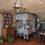 L'écomusée des Grottes de Matata : intérieur troglodytique charentais