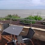 Hôtel des Grottes de Matata : terrasse privative