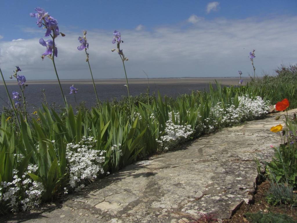 Chambre atypique vue mer estuaire Meschers proche Royan