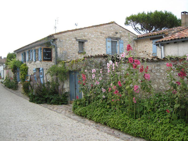 Talmont-sur-Gironde : ruelle