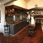 Anciennes cuisines du restaurant gastronomique